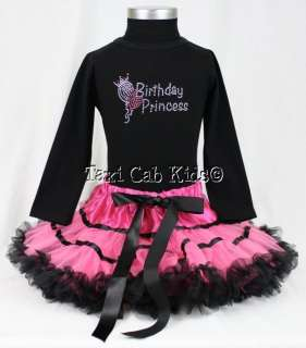 Tutu Pettiskirt * New Set *Birthday Party Princess Outfit* Custom