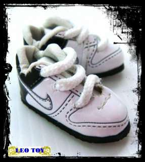 Blythe Obitsu BJD Doll Shoes MICRO Sneaker White NKT#1★
