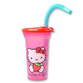 NEW HELLO KITTY TODDLER STRAW CUP