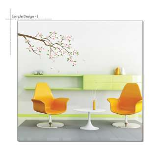 CHERRY BLOSSOMS Mural Art Wall Sticker Vinyl Deco Decal