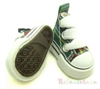 Micro Canvas Sneakers for Blythe/Pullip and most 1/6 scale dolls
