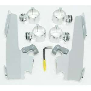 Memphis Shades Trigger Lock Mount Kits for Fats/Slims Windshields