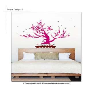 BONSAI TREE VINYL ART MURAL STICKERS DECALS PAPER DECOR