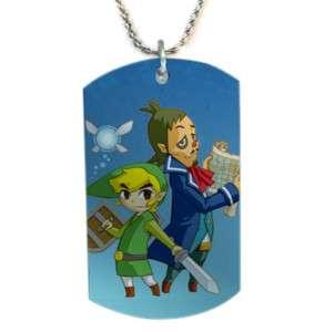 The Legend of Zelda Phantom Dog Tag Pendant Necklace