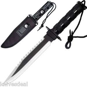 Military Survival Bowie Hunting Knife Hot New Item On The Market Free