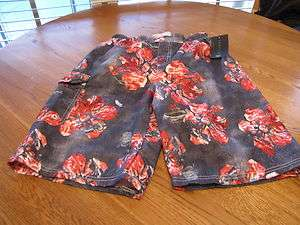 Boys youth 18/20 red swim shorts trunks board shorts S7KV98RDMXV U.S