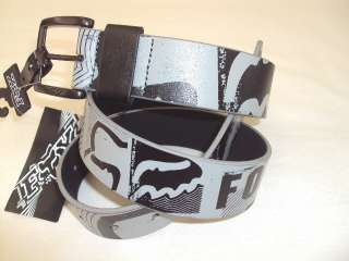 NEW FOX RACING RIDERS MOTOCROSS MEN BLOCKER BELTS GREY MEDIUM 239