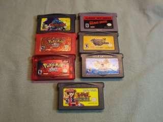 Advance Super Mario Bros. Pokemon ruby & Firered v Mega man Be