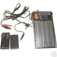 Solar Panel 9v, AA battery charger, 3,6,9,12 volt sup.
