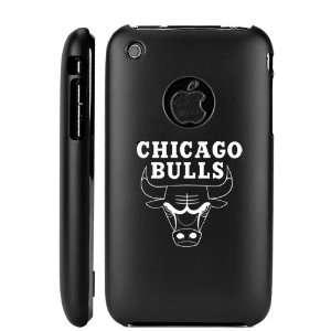 Apple iPhone 3G 3GS Black Aluminum Metal Case Chicago