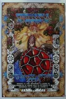 Grateful Dead Summer 1995 Original Poster Final w/ Jerry Tour Numbered