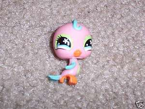 littlest pet shop PINK & BLUE BIRD EXTREMELY RARE