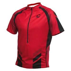 Cannondale Mens Monaco Cycling Jersey (Red, Small