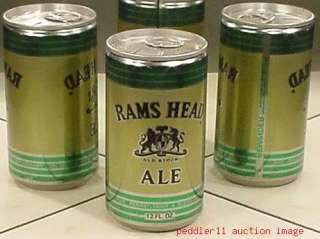 RAMS HEAD ALE RB BEER CAN C SCHMIDT PHILADELPHIA PA 62E