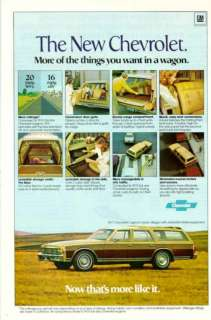 1977 Chevrolet Caprice Classic Wagon ad