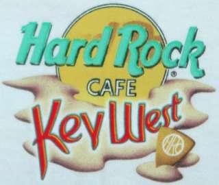 Hard Rock Cafe KEY WEST 2000 Heavy Tee T SHIRT Medium