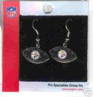 PITTSBURGH STEELERS Logo NFL SB40 Champs JHook Earrings