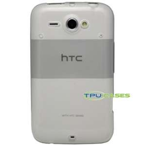 TPU Cases HTC Status Case Clear TPU Cover Skin White 608938236821