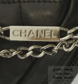 Chanel Black & White Quilted Leather Small Cambon Handbag