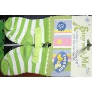 Stay With Me Medium Socks Stripes (3 Pack) Health