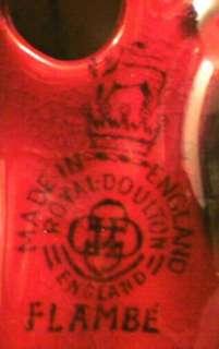Antique Royal Doulton Flambe Stalking Fox 29B