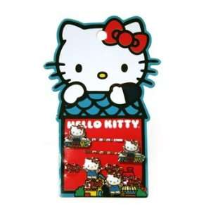 Hairpins   Hello Kitty   Sanrio Set 4 Cat City (Hair Pin