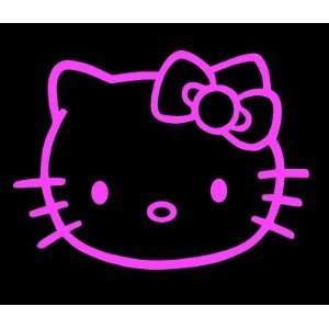 HELLO KITTY   5 PINK   Cat Feline   Car, Truck, Notebook, Vinyl Decal