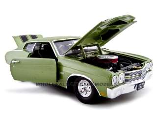 1970 CHEVY CHEVELLE PRO STREET SS 454 GREEN 124