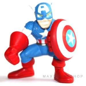 New Marvel Super Hero Squad Hawkeye & Captain America Figure N3