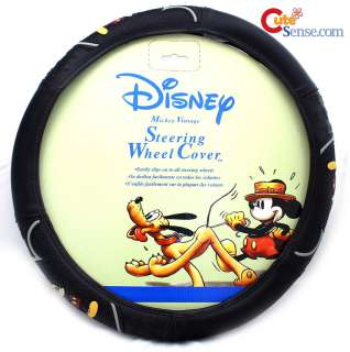 Mickey Mouse Steering Wheel Cover Car/ Auto Accesory