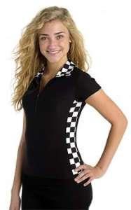 Checkered Flag Racing Shirt   Sports Bars Restaurants