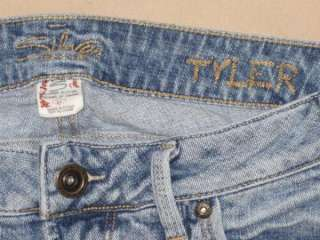 Womens Silver Jeans Tyler capri cropped stretch size 27