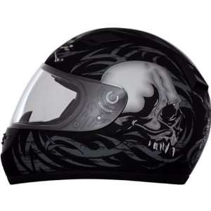 Daytona Shadow Skulls D.O.T. Approved Full Face Street Bike Racing