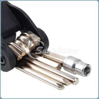 14in1 Mini Multi function Bicycle Bike Tool Repair Kit