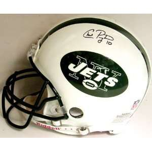Chad Pennington New York Jets Autographed Helmet  Sports