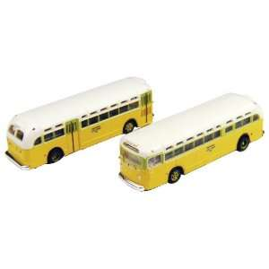 Bus 2 Pack   National City Lines Blank Destination Board Toys & Games