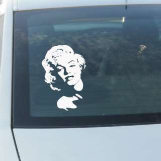 MARILYN MONROE STICK CAR WINDOW VINYL DECAL STICKER