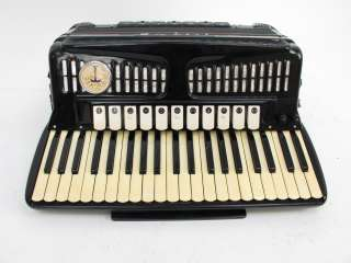 Titano Cosmopolitan Accordion With Case Made In Italy
