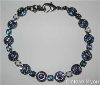 Sorrelli Blue Swarovski Crystal Bracelet NWT Blues