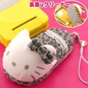 Sanrio Hello Kitty Big Slipper Cleaner Cell Phone Strap