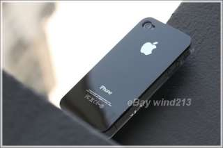Snap On iPhone 4 4G 4S (Black / White) Ultra Thin Hard Case Cover