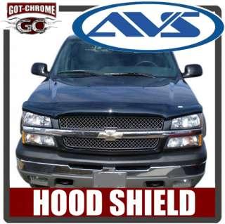 25457 AVS Bug Hood Shield Chevy Avalanche 2002 2006 725478054910