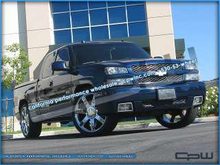 RIMS TIRES PACKAGE DEAL FITS CHEVY SILVERADO SUBURBAN NEW