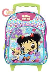 Ni hao Kai Lan Rolling Backpack  Roller Bag Small