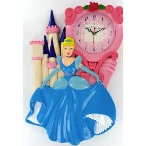 Disney Princess Cinderella Castle Wall Clock