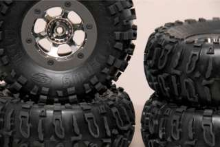 Losi Comp Crawler Beadlock wheels w/ Losi Rock Claws Axial   RC4WD