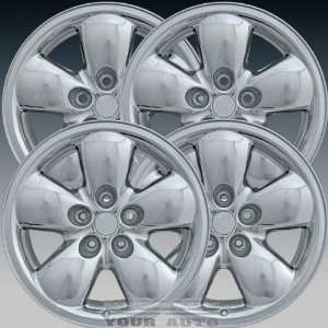 Dodge Ram 1500 20X9 Factory Replacement Cladded Chrome Wheel Set of 4