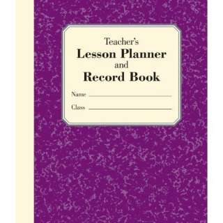 Lesson Planner and Record Book (9781402778261) Stephanie Embrey