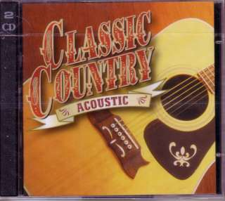 TIME LIFE Classic Country ACOUSTIC New & Sealed Various Oop 2 CD
