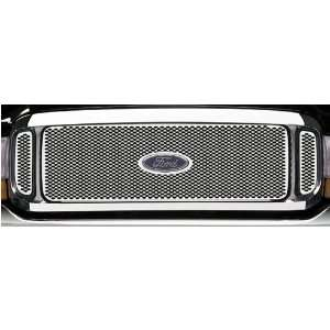 Putco Racer Grille Insert w/ Logo Cut Out   Stainless, for